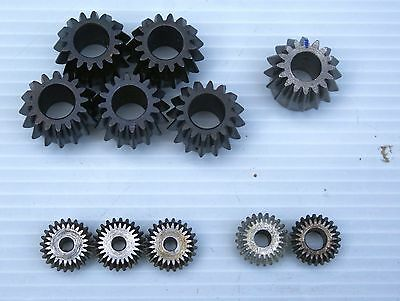 11 MARTIN & BOSTON & BROWNING BEVEL SPUR GEARS VARIOUS BORES jt