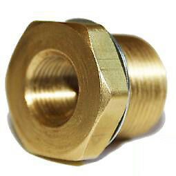 1x Spark Plug Thread Adaptors Brass 22mm down to 14mm
