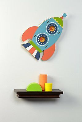 NoJo Wall Decor, Out of this World -Rocket Spaceship - Discontinued