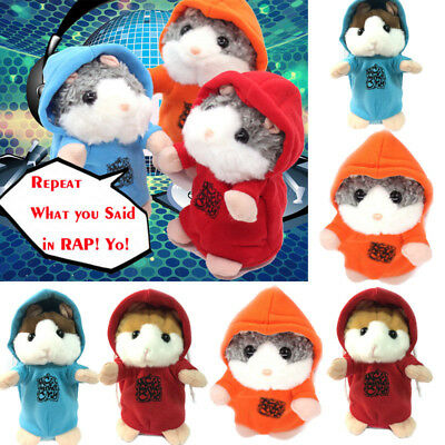 Talking Hamster Electronic Plush Toy Mouse Pet Sound Gift Children Plush Cute Y