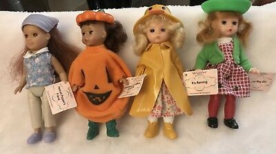 Madame Alexander McDonalds Mini Dolls Lot Of 4