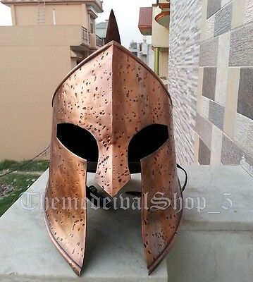 Medieval Spartan Rise of Empire 300 Helmet Vintage Style Antique Style Wearable