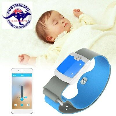 Smart Medical Baby Thermometer Bluetooth 4.0 Wireless Fever Monitoring Safe Care