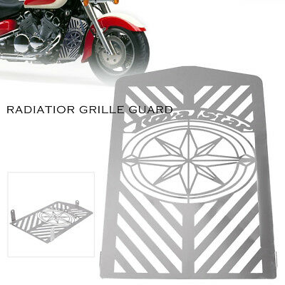 Radiator Steel Grille Protector Guard Cover for Yamaha Royal Star XVZ1300 99-13
