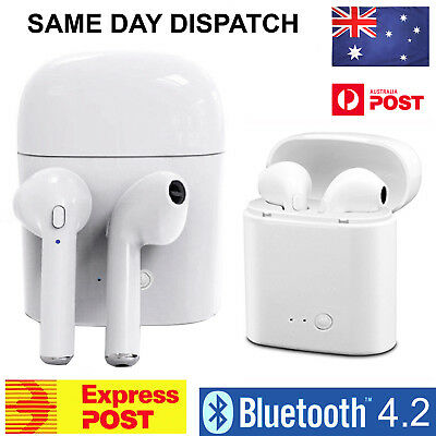 Wireless Headset Bluetooth Earphone Headphones For iPhone 6 7 8 Plus X Android