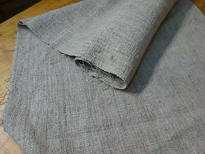 A Homespun Linen Hemp/Flax Yardage 5 Yards x 24''   # 9585