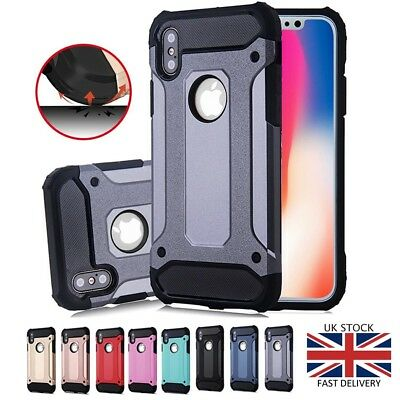 Hybrid Armor Case For Apple iPhone 10 X 6 7 8 Plus 6s Shockproof Bumper Cover