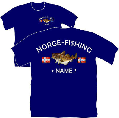 Norwegenangeln Norge Fishing Norwegen Angelreise Angelurlaub Angler T-Shirt 22