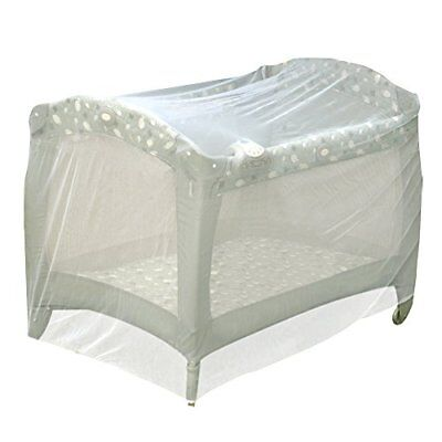 Baby Playpen Mosquito Net Pack N Play Mosquito Net Tent Insect Mesh Cover White