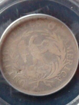 1796 Draped Bust Quarter PCGS G06 Good 6 FIRST YEAR OF ISSUE!  Nice Coin.
