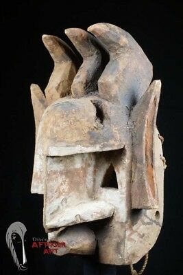 "Dogon Mask with Exaggerated Abstract Features 14.5"" - Mali"