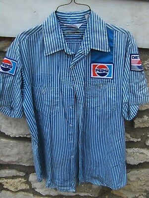 Authentic Vintage Pepsi Cola Diet Pepsi Shirt Union Made USA