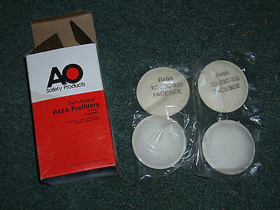 AO Safety Products, Sure guard, R49A prefilters x4