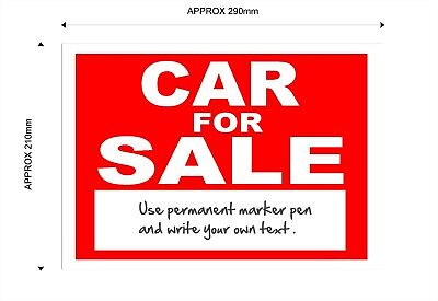 Car For Sale Sign With Space For Your Own Text 2 99 Picclick Uk