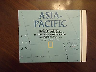 National Geographic MAP Asia Pacific November 1989