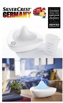 Aroma Diffuser with Colour Changing LED Light Ultrasound Air Purifier 3Hour Use