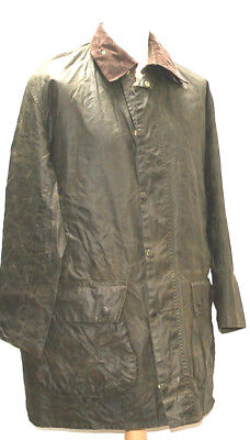 Superb Well Waxed Men A200 Border Barbour Jacket C42 / 107 Cm Green