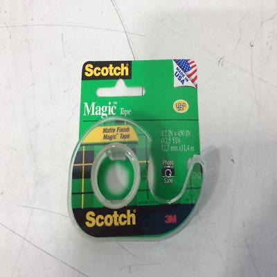 Scotch 3M Magic tape 1/2in X 450in | one roll | Free shipping! Scotch Tape
