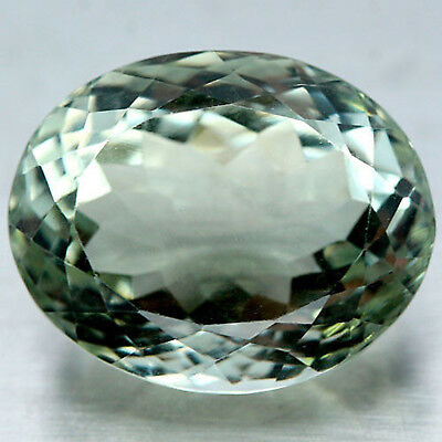 26.58 Ct Aaa Natural Green Uruguay Amethyst Oval