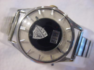 Vintage large antique Art Deco PIONEER GOLF mens watch  . NR
