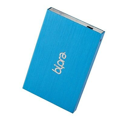 Bipra 2.5 Inch External Hard Drive Portable USB 2.0 - BLUE - FAT32 (320GB)
