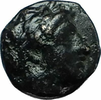Apollonia Pontika Black Sea Area Thrace APOLLO ANCHOR Ancient Greek Coin i66193