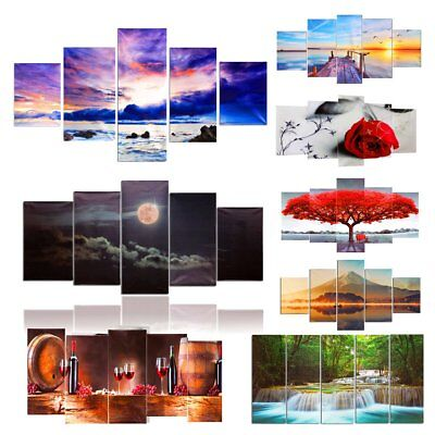 Modern Art Canvas Oil Painting Print Picture Home Wall Decoration Unframed
