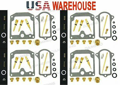 4 x carburetor CARB REPAIR rebuild KIT 77-78 kz650 kz650c kz650d kz650b-US stock