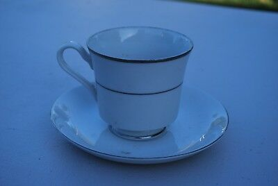 Imperial China Japan Serenity Coffee Cup w/ Toscany Saucer - NICE!!