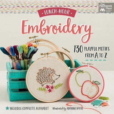 Lunch-Hour Embroidery Book