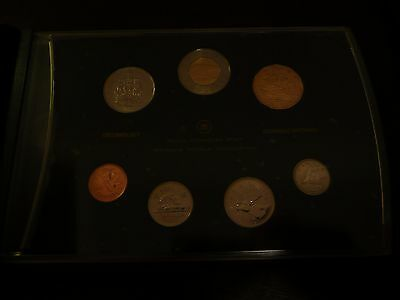 2007 Canada Specimen 7 Coin Set Royal Canadian Mint. Trumpeter Swan $1