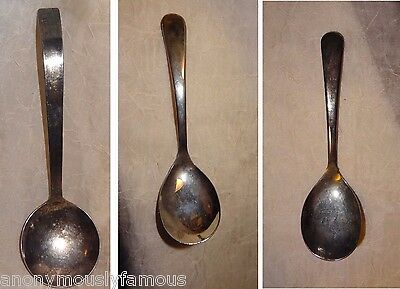 Vintage Lot of 3 Silver Plated Spoons Sheffield England