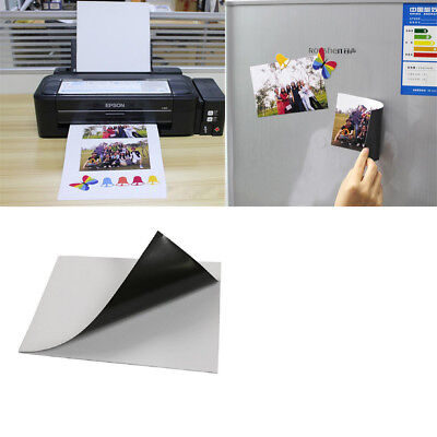 1/10 A4 Magnetic Magnet Sheets Thickness Crafts Material  KU