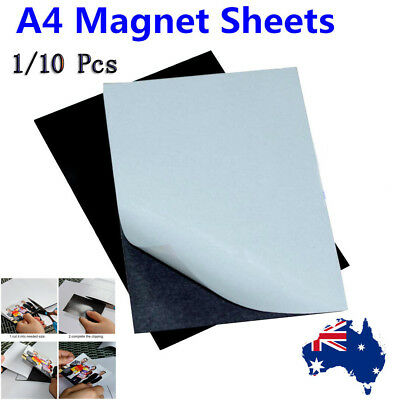 1/10 Pcs A4  Magnetic Magnet Sheets Thickness Crafts Material OZ