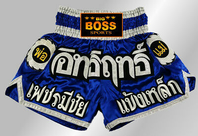 Big Boss Muay Thai, Kickboxen, K1, Thai-Boxen Kampfsport kurze Hose Satin Short