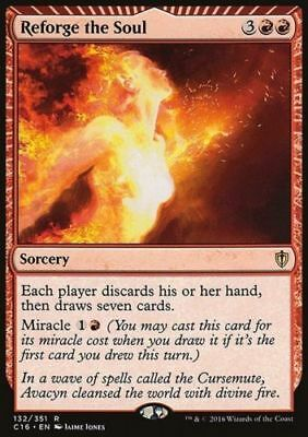 1x REFORGE THE SOUL - Rare - Commander - MTG - NM - Magic the Gathering