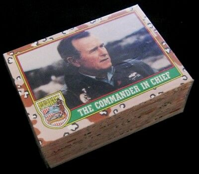 Operation Desert Storm – Full Set Collector Cards Set of 88 cards + 22 stickers