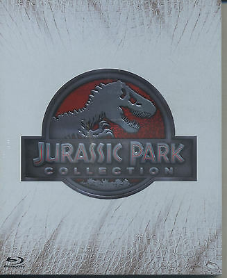 Jurassic Park Collection  4 Blu-Ray - Cofanetto  Blu Ray Nuovo