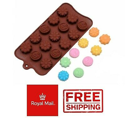 Flower Rose Silicone Fondant Mould Cake Decorating Chocolate Baking Mold Tool