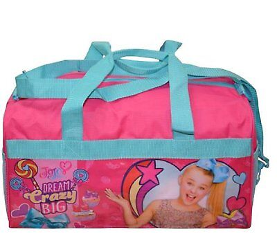 Jo Jo Siwa 600D Polyester Duffle Bag with printed PVC Side Panels