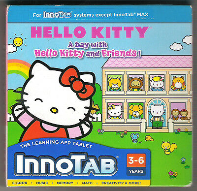 VTech InnoTab Learning Software Hello Kitty  Ages 3-6  BRAND NEW!