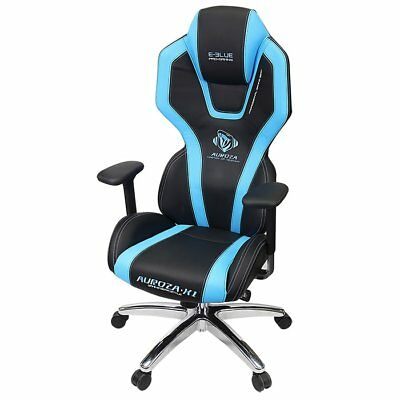 Human Engineered Adjustable Gaming Chair  -  BLUE