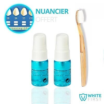 Blanchiment dentaire Spray anti-taches - Kit blanchiment dentaire WHITE FIRST