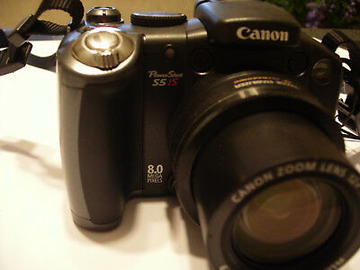 Canon PowerShot S5 IS 8.0MP Digital Camera *** USED VERY GOOD CONDITION *** S5is