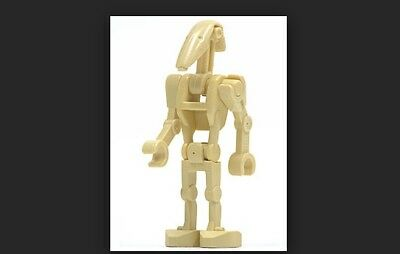 Battle Droid with Red Dot Insignia Pattern LEGO x10 Dark Brown Torso Mechanical