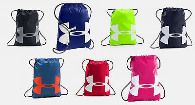 Under Armour Ozsee Sackpack UA Drawstring Backpack Sack Pack Gym Bag All  Sport ca77ce2857ced