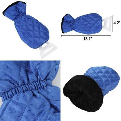 Ice Scraper Mitt For Car Windshield Snow Scrapers with Glove Lined of Thick Flee