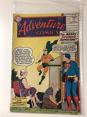 Adventure Comics #260 OW White Pages 1st Silver Age Origin of Aquaman