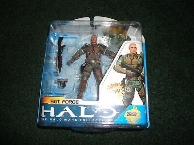 McFarlane Toys Halo Wars Collection SGT. Forge Action Figure - NEW IN PACKAGE