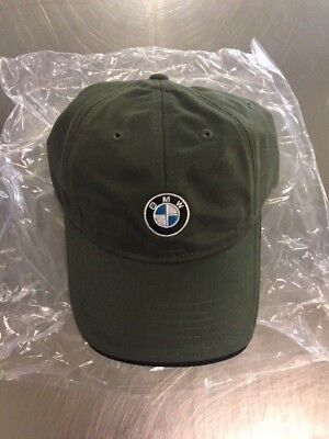 Navy BMW Genuine Recycled Brushed Twill Cap